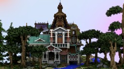 Fixy Manor House (included treepack) Minecraft Project
