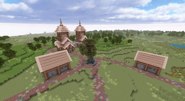Ordar Farm town