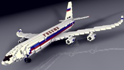 Iliyushin Il-96-300PU Rossiya | Russian Presidental Plane | Scale: 1,5:1 Minecraft Project