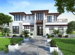 Recreation: Modern House Minecraft Map & Project