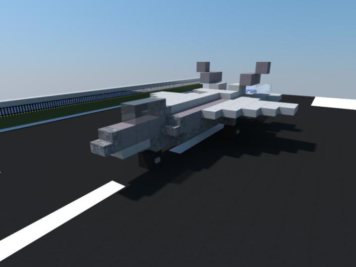 F 22 Raptor Minecraft Project
