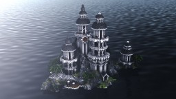 * Island in the gloom * Minecraft Project