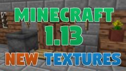 New Minecraft 1.13 Textures