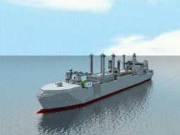 Naval supply Class TS-269 Minecraft Project