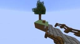 Skyblock with Villagers