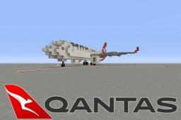 Qantas B737-800 **NEW LIVERY** Minecraft