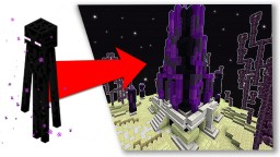 Enderman House Timelapse Minecraft Map & Project