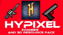 Hypixel Zombies Texture pack + 3D models