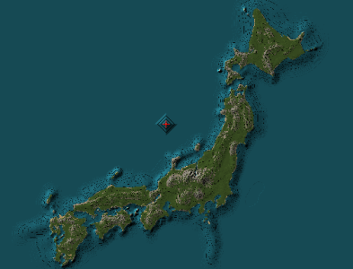 Map of Japan Minecraft Project