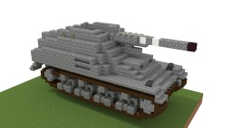 Sd.Kfz. 165. Hummel (4:1) Minecraft Project