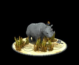 Stony the Rhino Minecraft Map & Project
