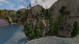 The town of Aryn [medieval town] Minecraft Project