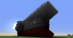 Modern Aircraft Carrier CVN-55 Minecraft Map & Project