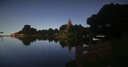 Scarborough In Minecraft | Made by Krash Labs Minecraft Project