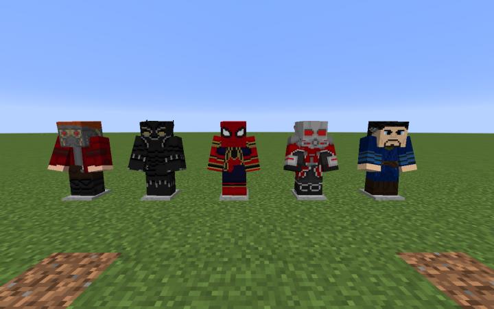 Infinity War Pack 1 (Time Gem) Minecraft Texture Pack