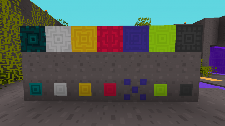 stone, ores and blocks