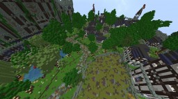 Cool server spawn town. Minecraft