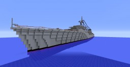 French Cruiser Emile Bertin Minecraft Map & Project
