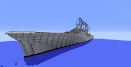 French Cruiser Duguay-Trouin Minecraft Project