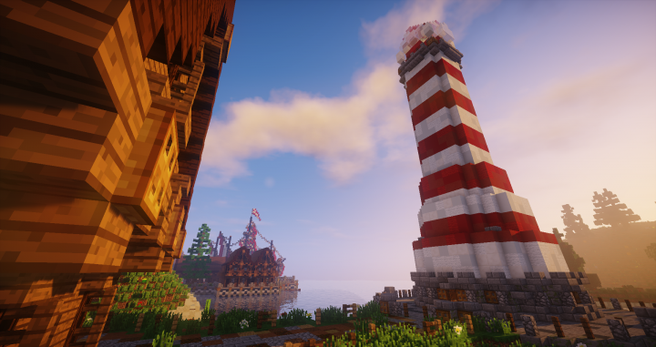 Build Lighthouse Phare 1 12 Download Minecraft Project
