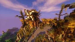 Build sur Za Worldo - Pour Aurelien Sama Minecraft
