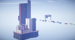 Futuristic building Minecraft Map & Project