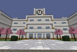 Yandere Simulator Akademi High School Map Minecraft Project