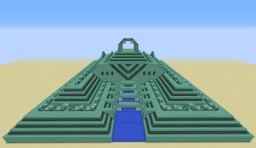 Mega Ocean Monument Minecraft Project