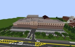 The Walking Dead-Prison Minecraft Project