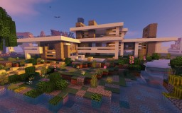 ~// Modern House ~ Minecraft Project