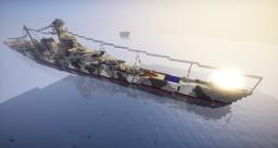 Avalonian Battleship ABB-16 Lurelian Minecraft Project