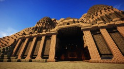 Sandstone Temple Minecraft Project