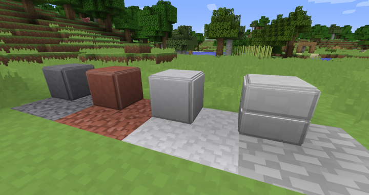 Andesite, Granite, Diorite and Stone slabs
