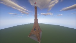 Eiffel Tower! 1:3 Scale Minecraft Project
