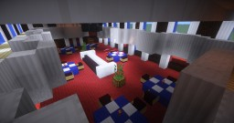 Ocean Liner, Dining Room Minecraft Project