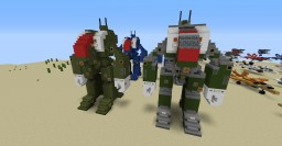 Robotech MBR-07-Mk II Spartan Minecraft Map & Project