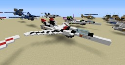 Robotech VF-1 Valkyrie (new - large version) Minecraft Map & Project