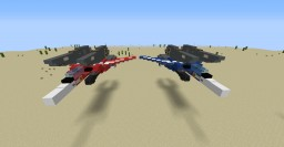 Robotech VF-1 Super + Strike Valkyrie Minecraft Map & Project