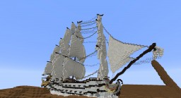 The 'Krakens Tooth' Pirate Ship Minecraft Map & Project