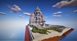 Story Book Skyblock Spawn w/ Islands Minecraft Map & Project