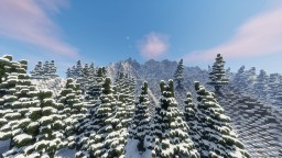 Snowy Mountains: 1000x1000 #ConquestReforged #WeAreConquest Minecraft Map & Project