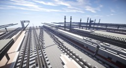 München HBF Central train station Minecraft Map & Project