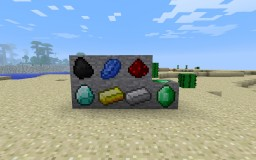 Texture Pack Ore 1.4.7 by WitheredSeven7 Minecraft Texture Pack