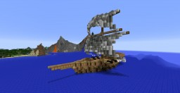 Small Warship Minecraft Map & Project
