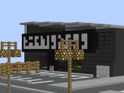 Koenigsegg Dealership Minecraft Project
