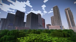 Updated: Hallandale City Minecraft Map & Project
