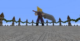 Cloud Strife Final fantasy 7 Minecraft Project