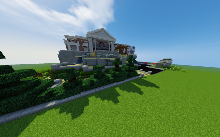 Mansion Build. Not FINISHED. Front