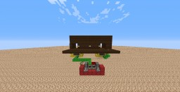 Simple Redstone Door Minecraft Map & Project