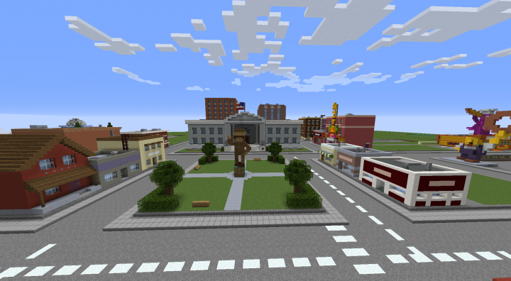 the town square
